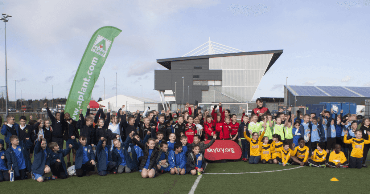 Salford Red Devils host schools touch rugby festival